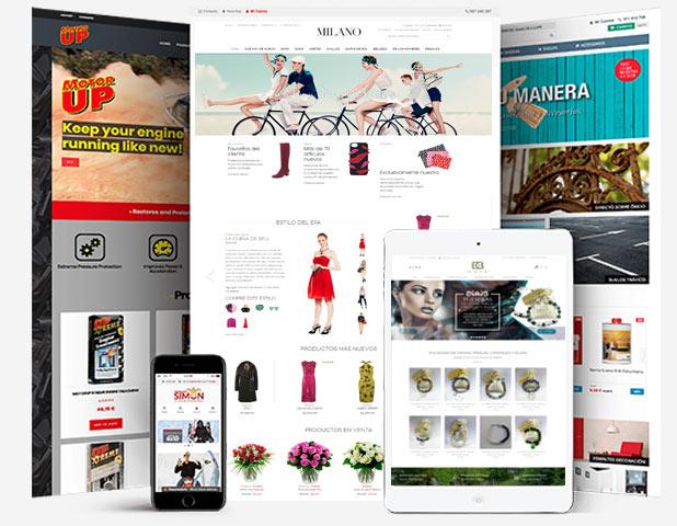 diseño de tiendas virtuales